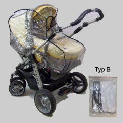 Universalregenplane für Kinderwagen ohne Schwenkschieber