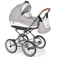 Companero Retro-Design Kinderwagen - Classic Design 01 incl. Adapter für Autositz