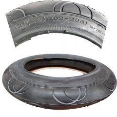 1 Stück Reifen Mantel 12 1/2 Zoll DIN 62-203