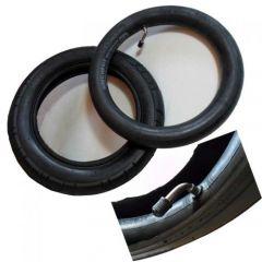 10 x 2  Reifen mit passenden Schlauch m. Winkelventil