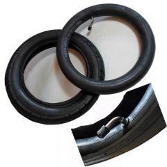 1 Stück Reifen Mantel + Schlauch m. Winkelventil  12  Zoll DIN 280 x 65 - 203