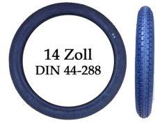 1 Stück Reifen Mantel 14 Zoll DIN 44-288