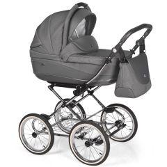 Companero Retro-Design Kinderwagen - Classic Design 02 incl. Adapter für Autositz