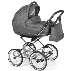 Companero Retro-Design Kinderwagen - Classic Design 03 incl. Adapter für Autositz