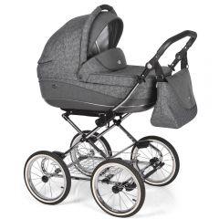 Companero Retro-Design Kinderwagen - Classic Design 03 incl. Adapter für Autositz