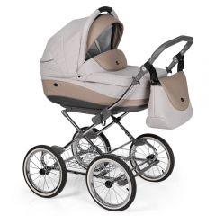 Companero Retro-Design Kinderwagen - Classic Design 04 incl. Adapter für Autositz