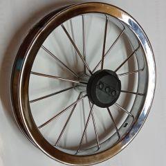 12,5 Zoll Felge für Kinderwagenrad kugelgelagert m. Metallspeichen (ohne Bereifung)